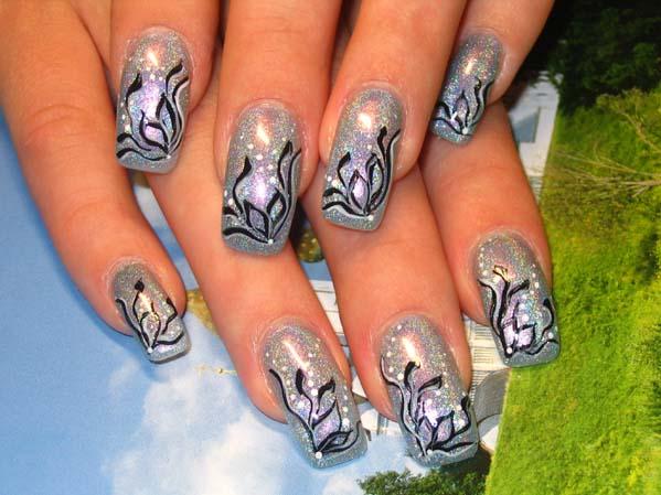 Красивые узоры на ногтях это просто