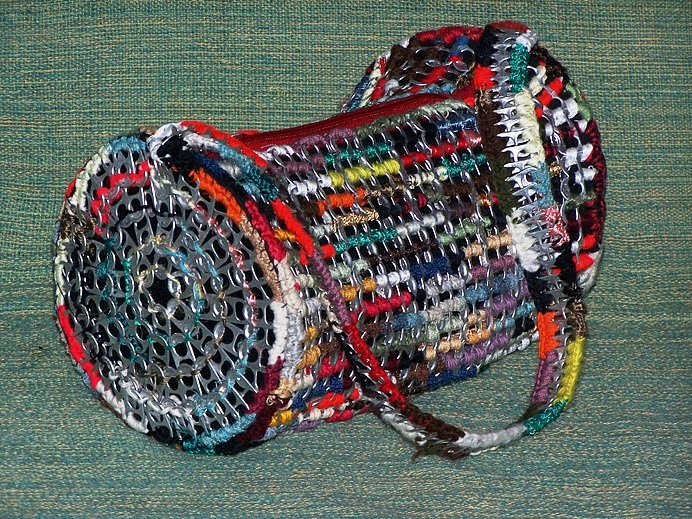 recycle soda tabs: crochet ideas