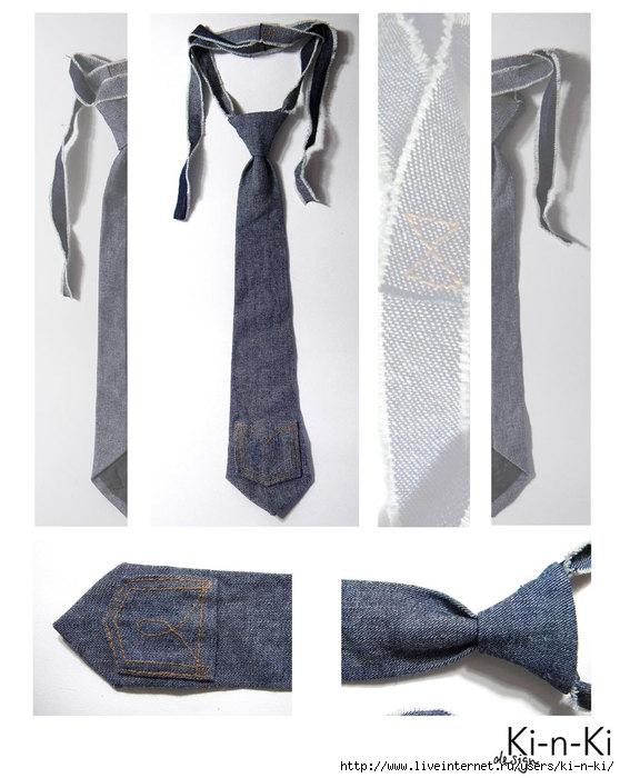 галстук-джинс (558x700, 181Kb)