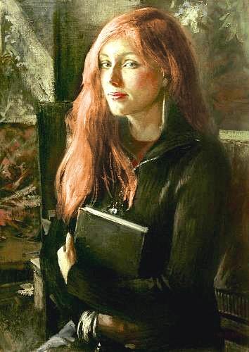 девушка с книгой (354x500, 49Kb)