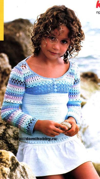 вязание-болеро-для-девочки (391x700, 111Kb)