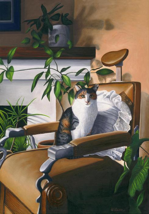 cat-sitting-in-barber-chair-carol-wilson (489x700, 51Kb)