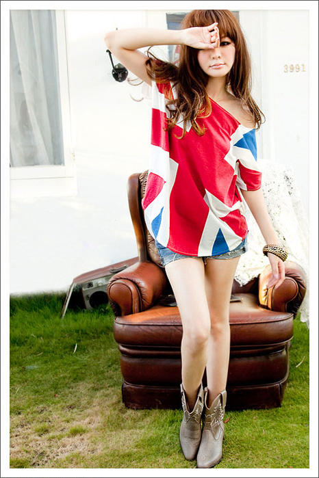 футболка с британским флагом купить
