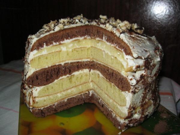 маковый торт на сковороде рецепт
