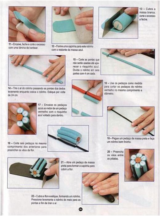 Как сделать украшения из полимерной глины мастер класс