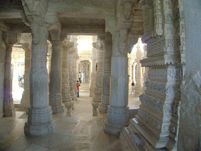 Храмовый комплекс Ранакпур - Jain Temples, Ranakpur 22145