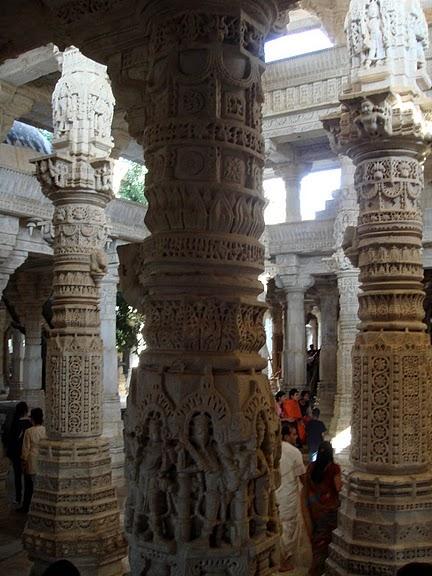 Храмовый комплекс Ранакпур - Jain Temples, Ranakpur 47784