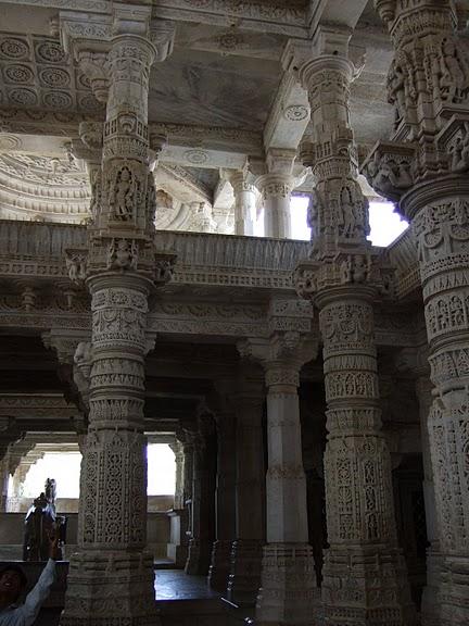 Храмовый комплекс Ранакпур - Jain Temples, Ranakpur 36510