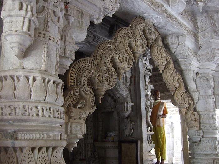 Храмовый комплекс Ранакпур - Jain Temples, Ranakpur 15927