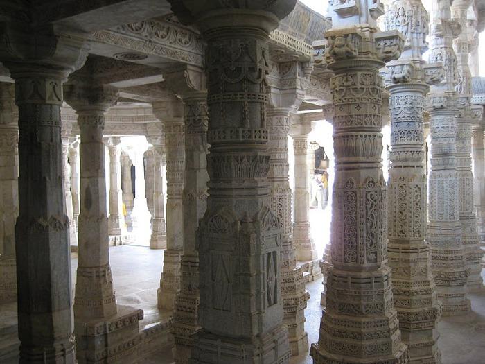 Храмовый комплекс Ранакпур - Jain Temples, Ranakpur 53718