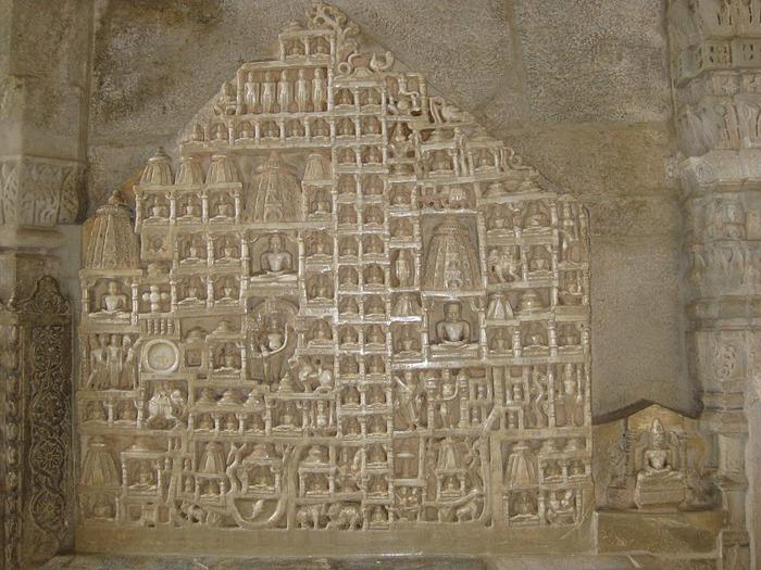 Храмовый комплекс Ранакпур - Jain Temples, Ranakpur 75059