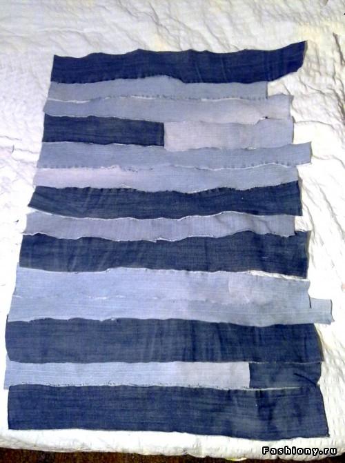 Платье из джинсов МК: хендмейд,переделка одежды.