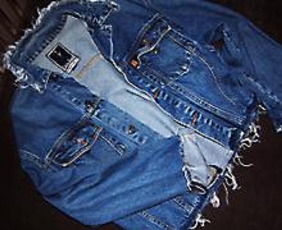 Версаче джинсовая куртка