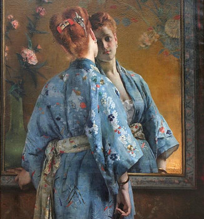 398px-Alfred_Stevens_-_La_Parisienne_japonaise (652x700, 132Kb)