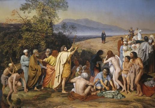 Явление Христа народу Иванов (516x360, 175Kb)