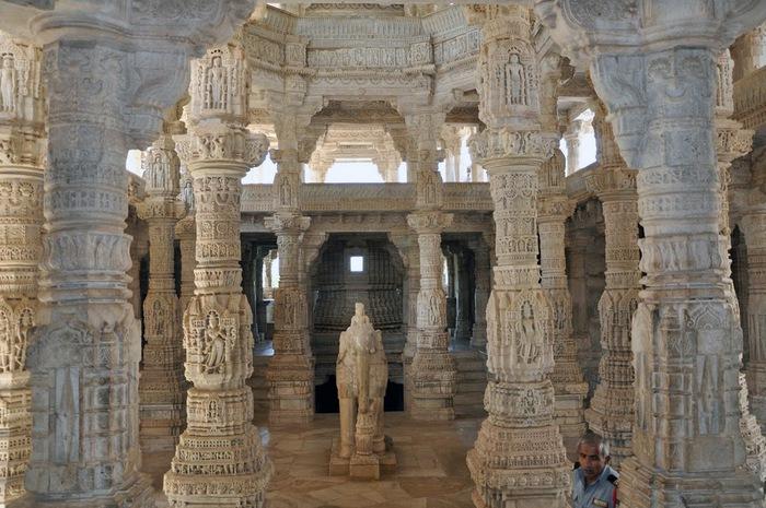 Храмовый комплекс Ранакпур - Jain Temples, Ranakpur 47950