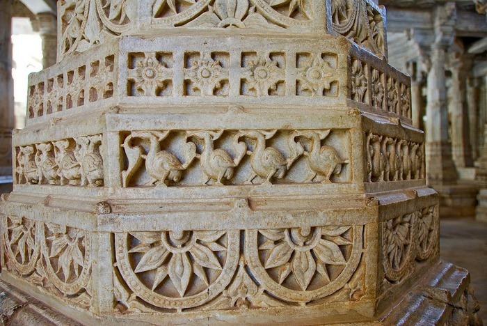 Храмовый комплекс Ранакпур - Jain Temples, Ranakpur 37099