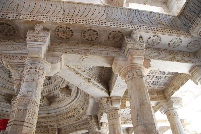 Храмовый комплекс Ранакпур - Jain Temples, Ranakpur 54084