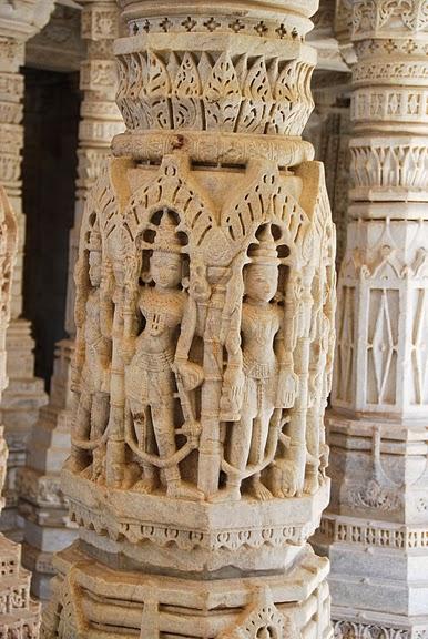 Храмовый комплекс Ранакпур - Jain Temples, Ranakpur 89896