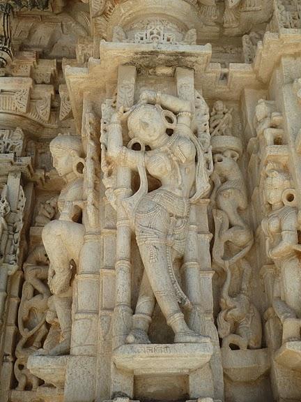 Храмовый комплекс Ранакпур - Jain Temples, Ranakpur 70896