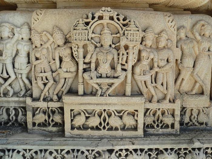 Храмовый комплекс Ранакпур - Jain Temples, Ranakpur 55158