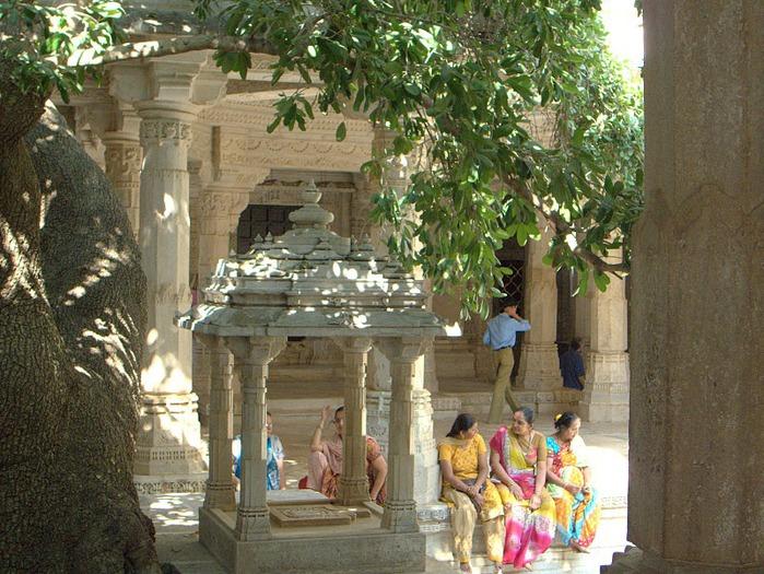 Храмовый комплекс Ранакпур - Jain Temples, Ranakpur 23186