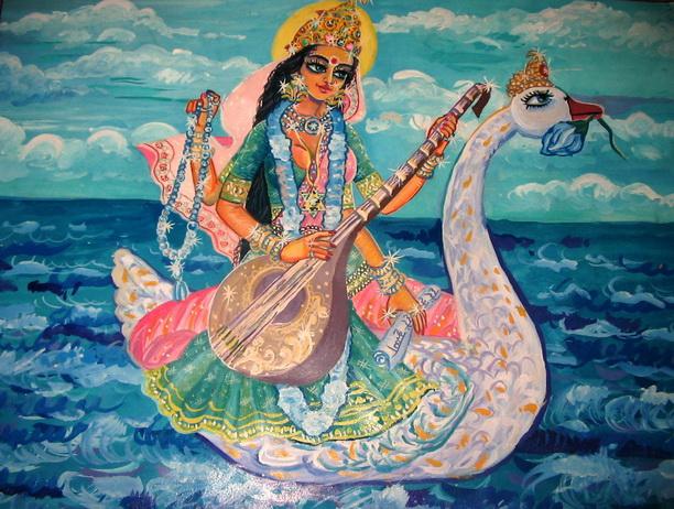Богиня-Сарасвати (612x462, 163Kb)