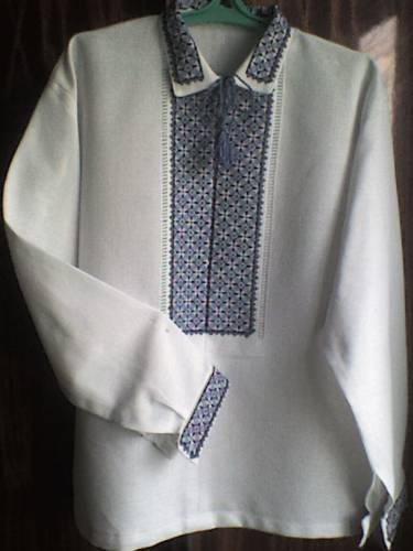 Украинская рубашка своими руками