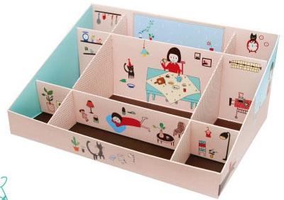 Коробочки из картона для хранения мелочей своими руками