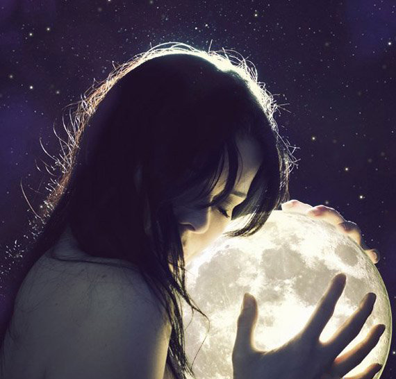 Все о 20 — х лунных сутках 75637946_devushka_s_planetoy_