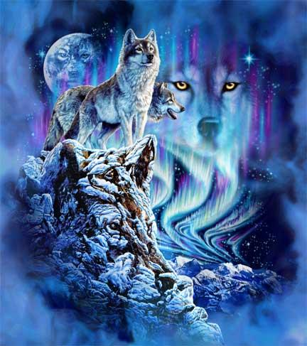 Волк в мифологии (432x487, 37Kb)