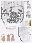 Филейное вязание - павлин (схема). Обсуждение на LiveInternet - Российский Сервис Онлайн-Дневников
