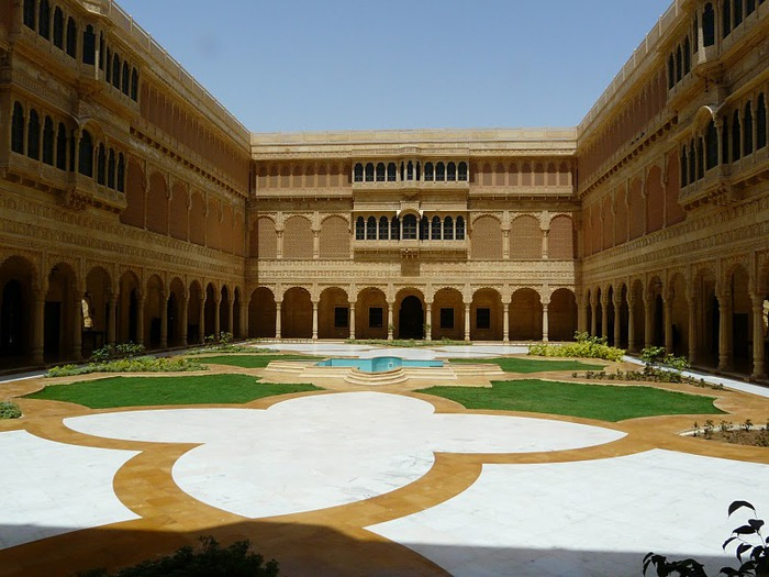 отели Индии и их интерьер 83073