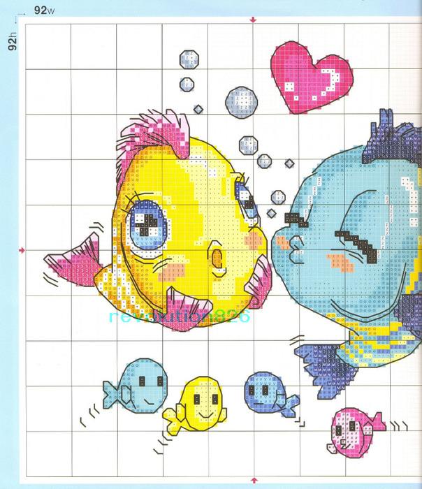 Рыбки 2 (604x700, 169Kb)