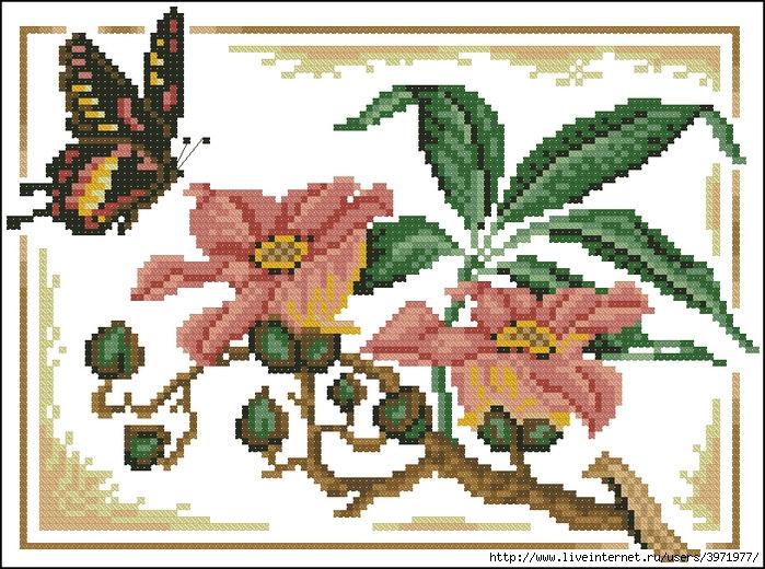 Скачать в коллекцию 60 схем вышивки крестом самых различных бабочек.  Дата: 18.11.2010 Теги: Добавил: еккек.