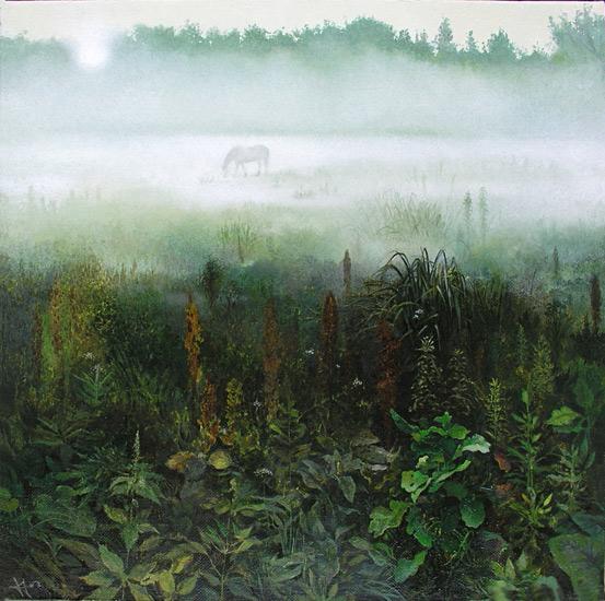 Козлов Пётр. Утро туманное (553x550, 117Kb)