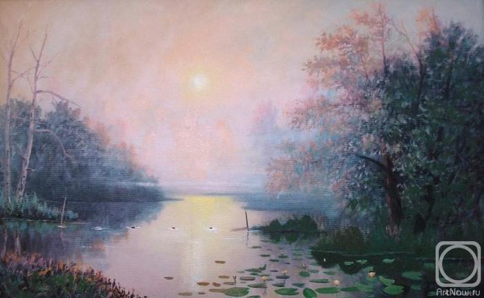 Иванов Александр. Туманное утро (700x431, 197Kb)