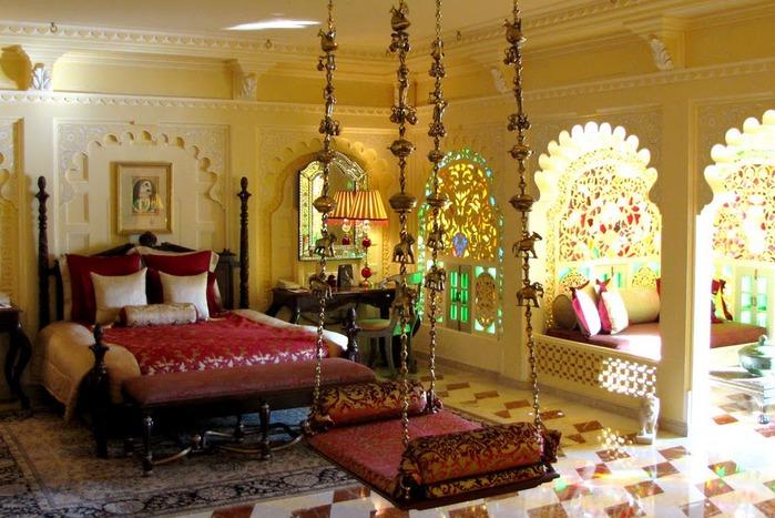 отели Индии и их интерьер 53312
