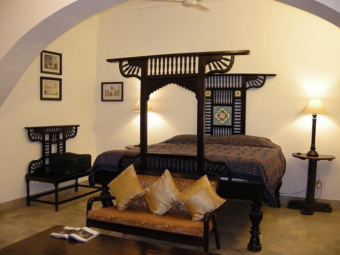 отели Индии и их интерьер 64574