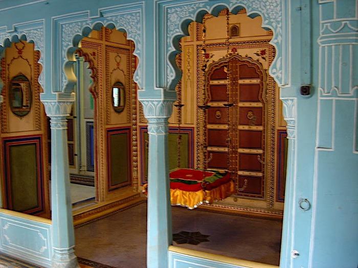 отели Индии и их интерьер 54456