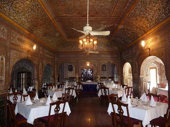 отели Индии и их интерьер 79383