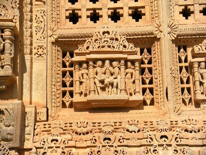 Храм Нагда - Nagda Sahasra Bahu temple 30927