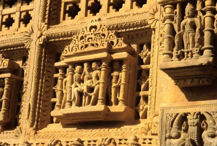 Храм Нагда - Nagda Sahasra Bahu temple 96541