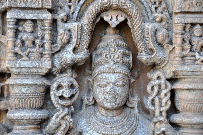 Храм Нагда - Nagda Sahasra Bahu temple 10739