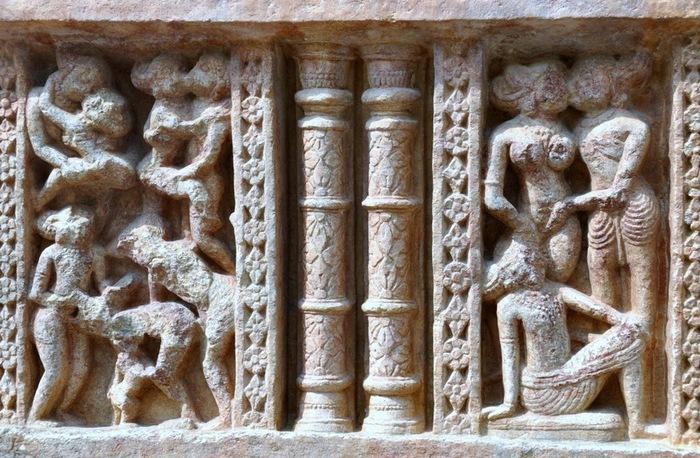 Храм Нагда - Nagda Sahasra Bahu temple 30675