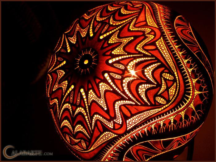 Удивительные светильники из тыкв - произведения искусства * НОВОСТИ В ФОТОГРАФИЯХ