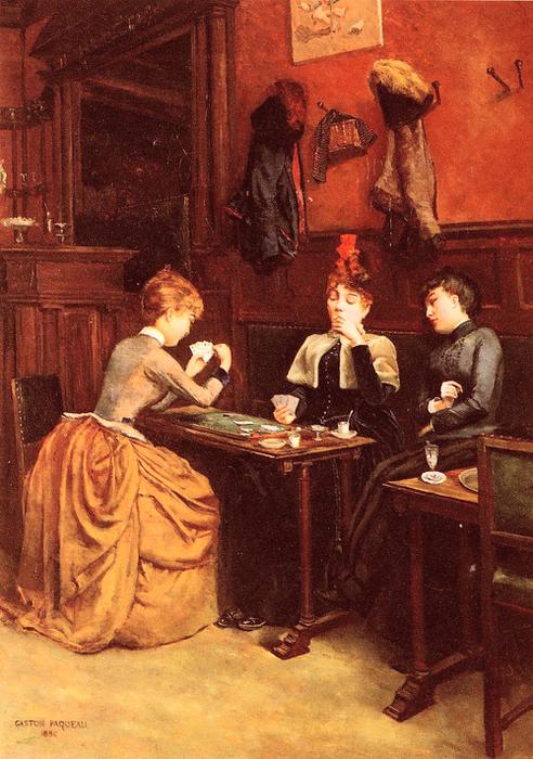 Paqueau-Gaston.Parisiennes-Au-Cafe (492x700, 439Kb)
