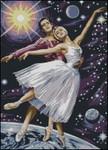 Описание: Схема для вышивки крестом - AMC63 Dancing Beneath the Stars в формате xsd.  Поделиться. бесплатно.