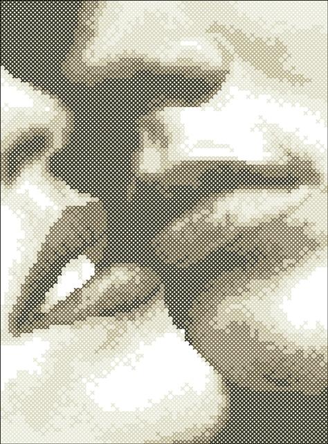 Вышивка вышивки черно белый поцелуй