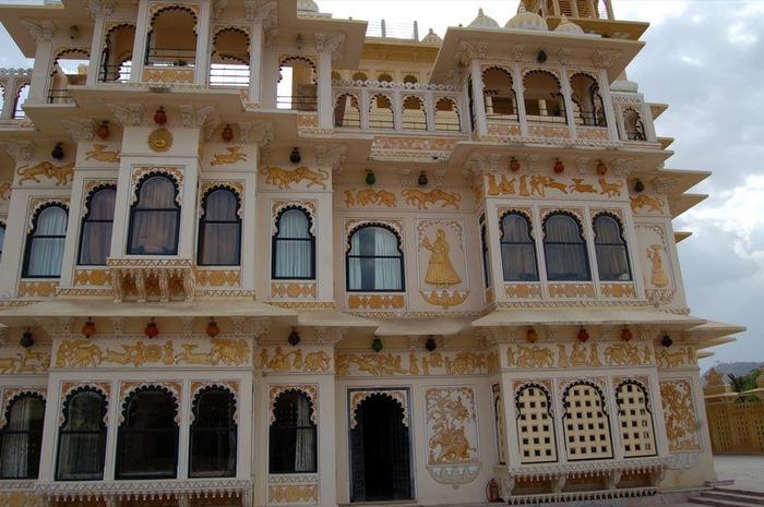 отели Индии и их интерьер 4 76765